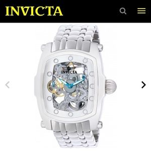 Mens Large Invicta Watch - Lupah Stainless Steel